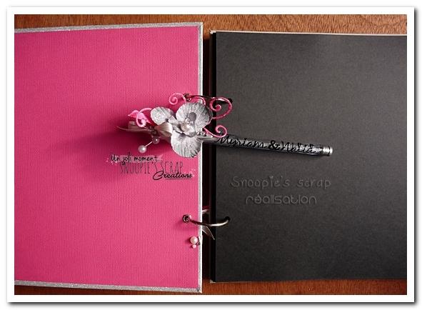 livre d'or Myriam & Walid - Snoopie's scrap (10)