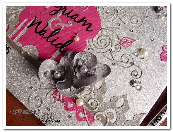 livre d'or Myriam & Walid - Snoopie's scrap (7)
