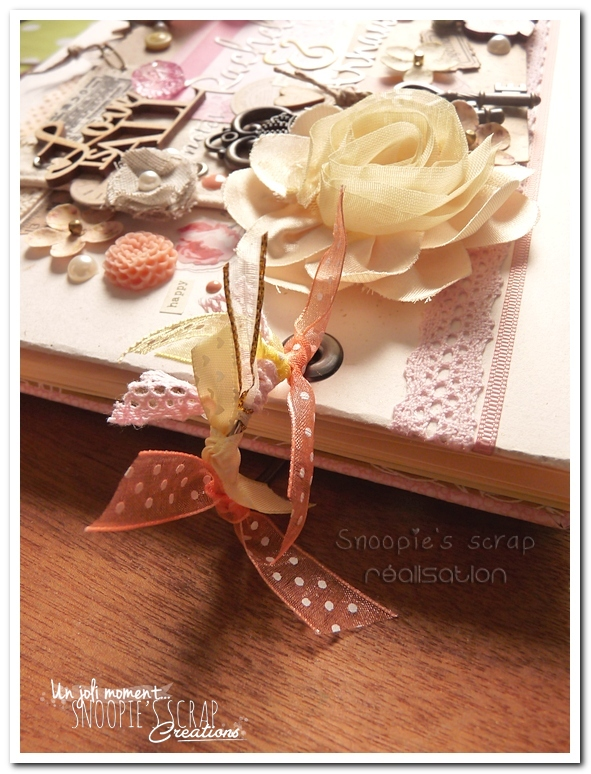 livre d'or Rachel & Arnaud - Snoopie's scrap creation (3)