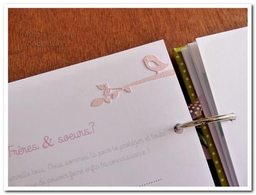 livre naissance victoire - vert, rose et marron - fôret enchantée (24)