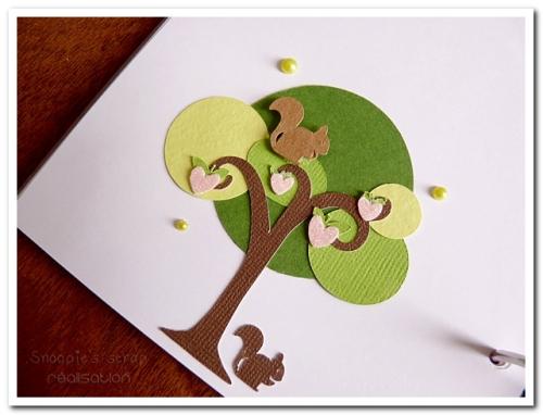 livre naissance victoire - vert, rose et marron - fôret enchantée (32)