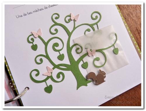 livre naissance victoire - vert, rose et marron - fôret enchantée (45)