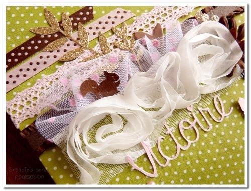 livre naissance victoire - vert, rose et marron - fôret enchantée (8)