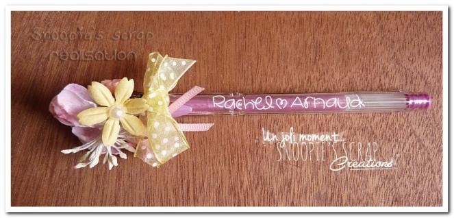 stylo Rachel & Arnaud - snoopie's scrap (1)