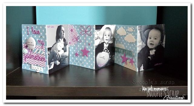 album photos accordéon - snoopie scrap (13)