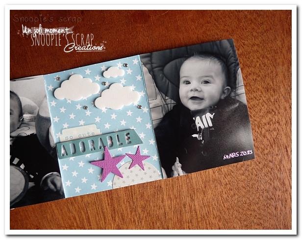 album photos accordéon - snoopie scrap (8)