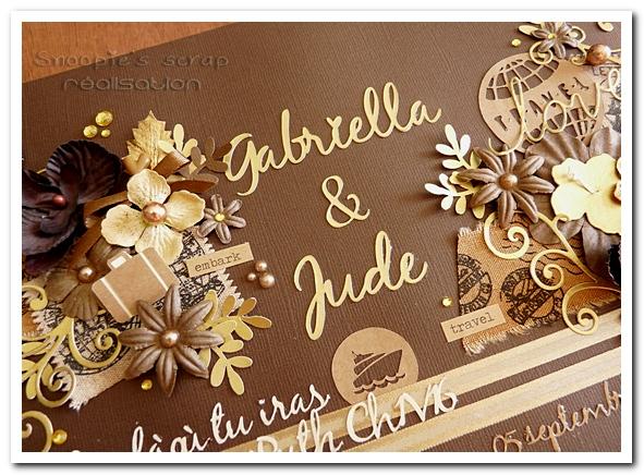 livre d'or Gabriella & Jude - 05.09.2015 - marron & or - voyage (4)