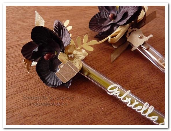 stylos mariage G & J - snoopiescrap creation (2)
