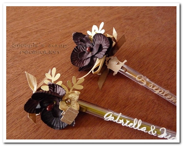 stylos mariage G & J - snoopiescrap creation (4)