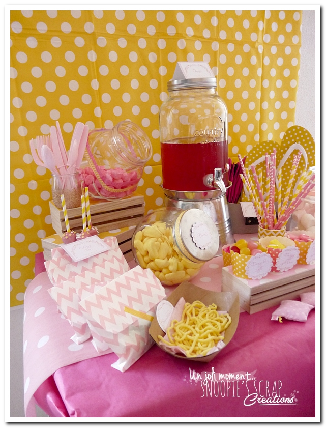 sweet table événement mariage bapteme communion - snoopiescrap (10)