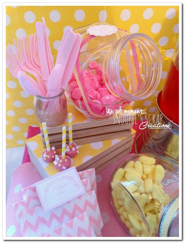 sweet table événement mariage bapteme communion - snoopiescrap (11)