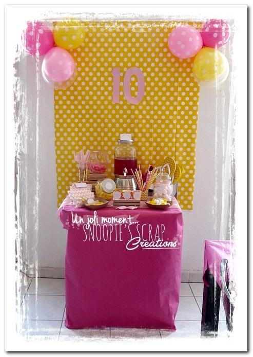 sweet table événement mariage bapteme communion - snoopiescrap (1)