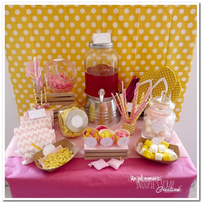 sweet table événement mariage bapteme communion - snoopiescrap (2)