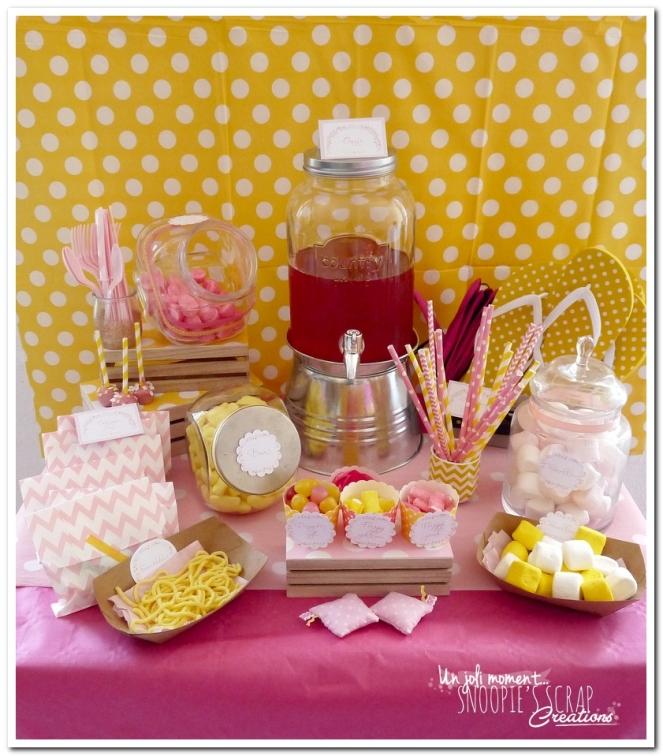 sweet table événement mariage bapteme communion - snoopiescrap (3)