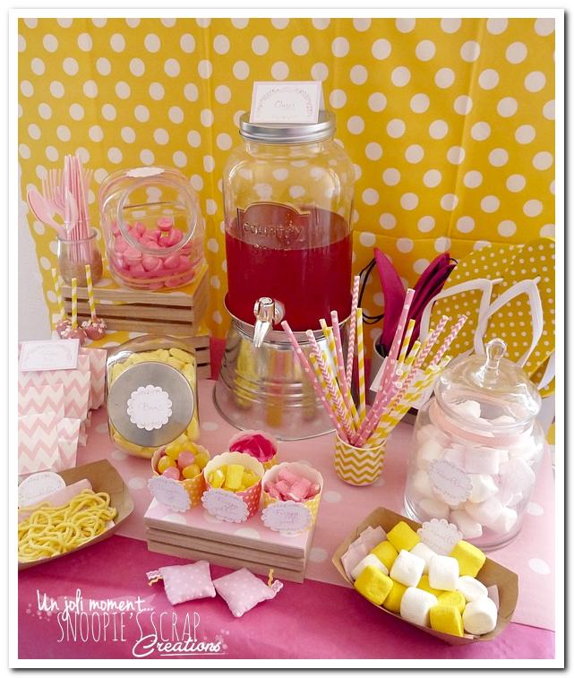 sweet table événement mariage bapteme communion - snoopiescrap (4)