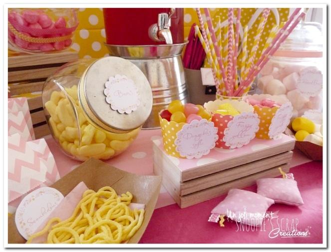 sweet table événement mariage bapteme communion - snoopiescrap (5)