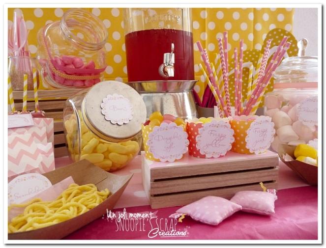 sweet table événement mariage bapteme communion - snoopiescrap (6)