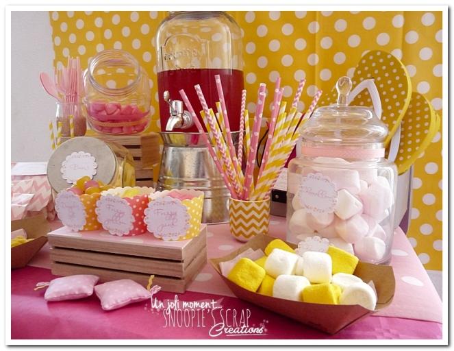 sweet table événement mariage bapteme communion - snoopiescrap (7)