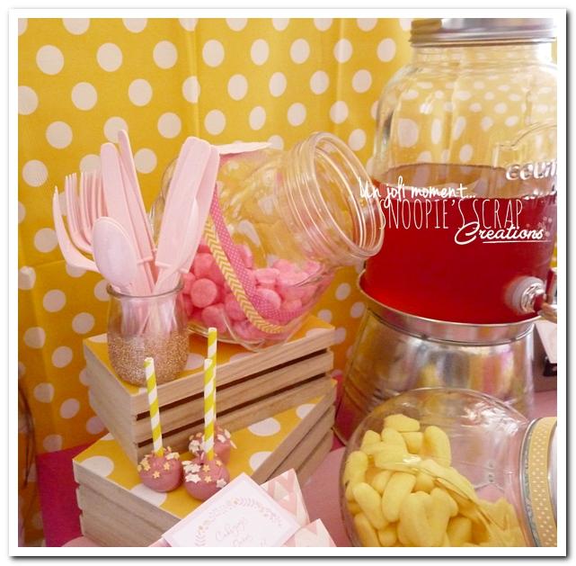 sweet table événement mariage bapteme communion - snoopiescrap (8)