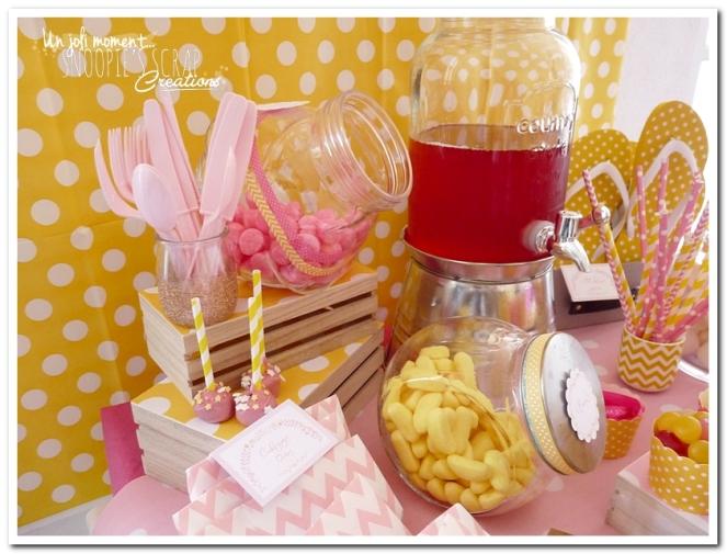 sweet table événement mariage bapteme communion - snoopiescrap (9)