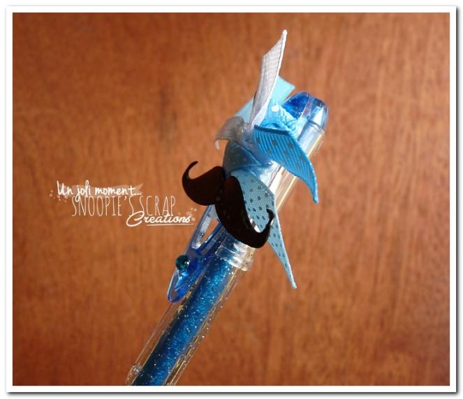 snoopiescrap - stylo decoré (3)