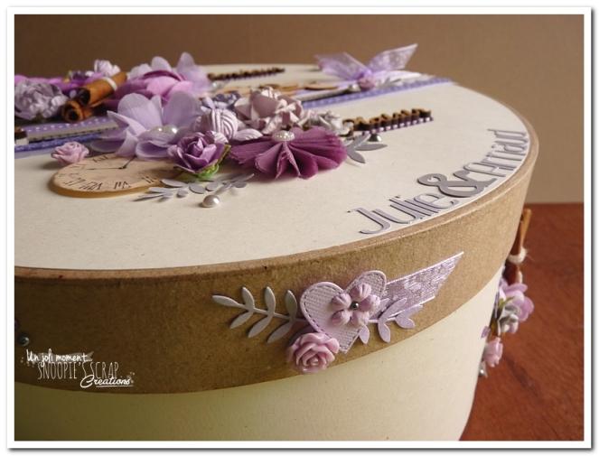 Urne tirelire mariage J & A - snoopiescrap creations (14)
