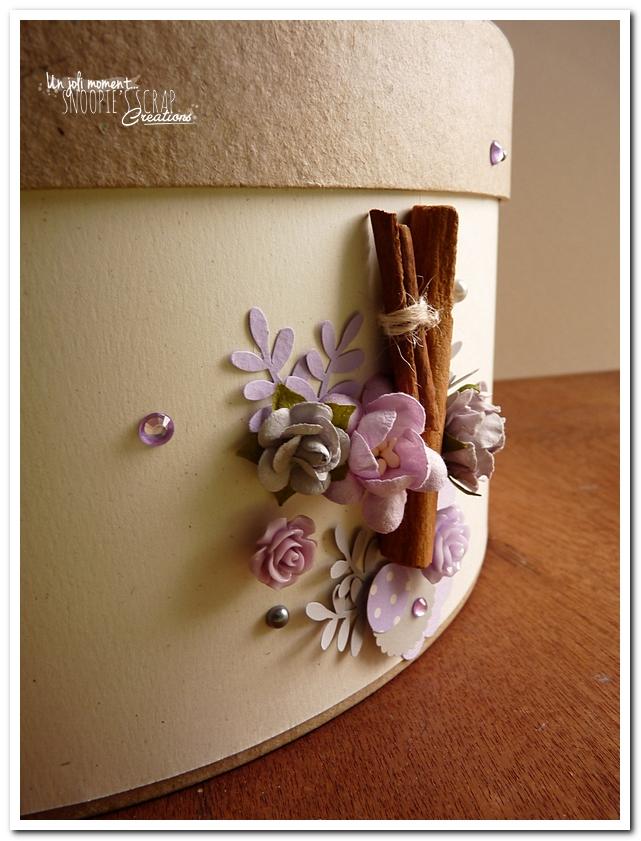 Urne tirelire mariage J & A - snoopiescrap creations (17)