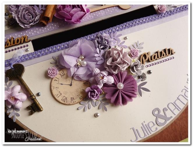 Urne tirelire mariage J & A - snoopiescrap creations (2)