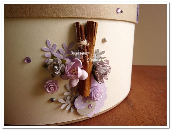 Urne tirelire mariage J & A - snoopiescrap creations (22)