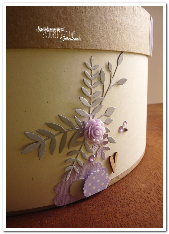 Urne tirelire mariage J & A - snoopiescrap creations (29)