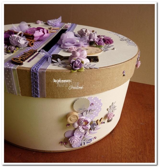 Urne tirelire mariage J & A - snoopiescrap creations (31)