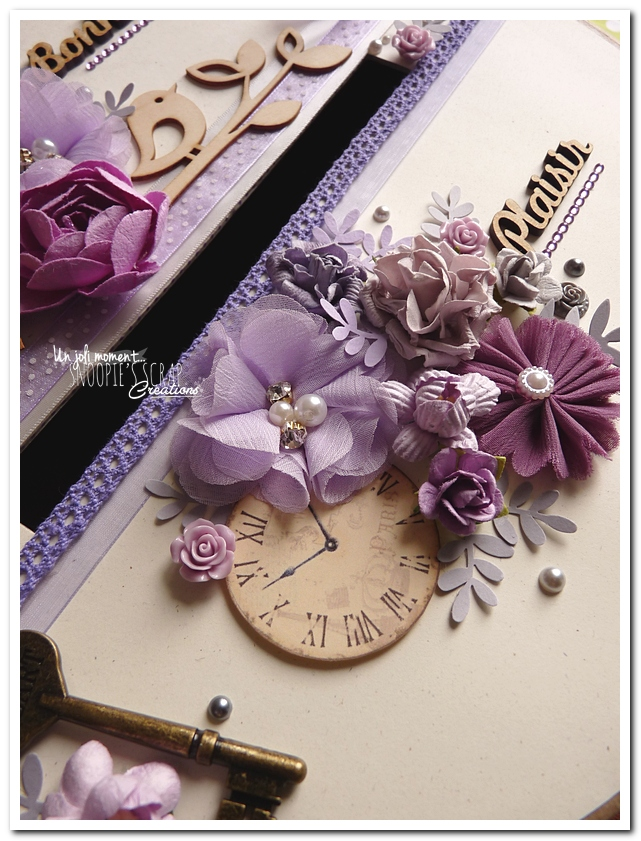 Urne tirelire mariage J & A - snoopiescrap creations (4)