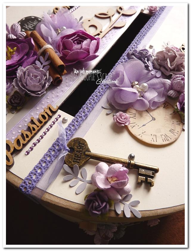 Urne tirelire mariage J & A - snoopiescrap creations (5)