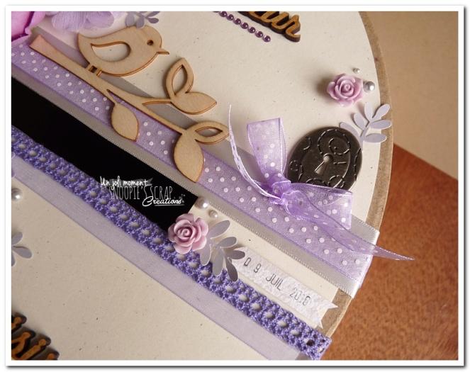 Urne tirelire mariage J & A - snoopiescrap creations (7)