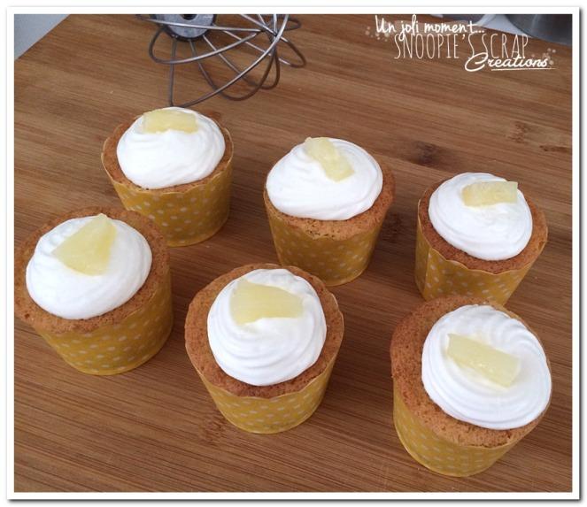 unjolimoment.com - cupcakes ananas coco